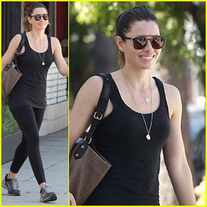 Jessica Biel Steps Out After Landing Role in USA's 'The Sinner'