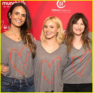Jordana Brewster, Kristen Bell, & Kathryn Hahn Attend Alliance of Moms Event