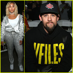 Jordyn Woods & Joel Madden Sit Front Row at VFILES Show