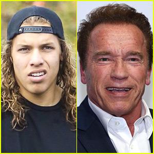 Arnold Schwarzenegger's Son Joseph Baena Remakes 'Terminator 2' Scene (Video)