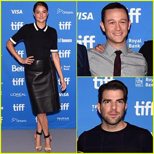 Joseph Gordon-Levitt & Shailene Woodley Attend 'Snowden' Press Conference at TIFF 2016