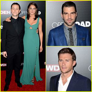 Joseph Gordon-Levitt & Shailene Woodley Premiere 'Snowden' in New York!