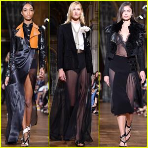 Jourdan Dunn, Karlie Kloss & Taylor Hill Rule the Runway During Paris Fashion Week