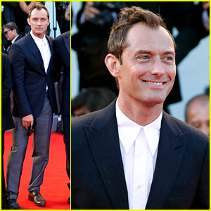 Jude Law Looks Dashing at 'Young Pope' Premiere in Venice!