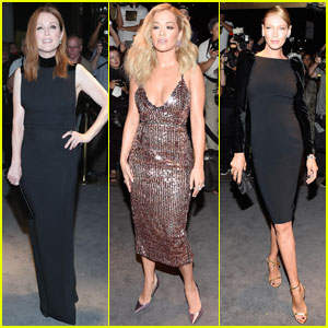 Julianne Moore & Rita Ora Are Tom Ford Fashion Show Beauties