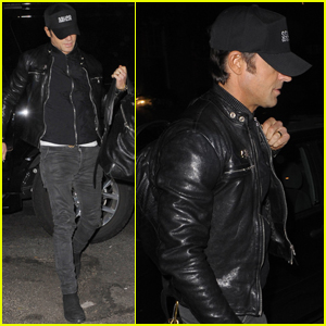 Justin Theroux Lands in New York After Wrapping 'The Leftovers'