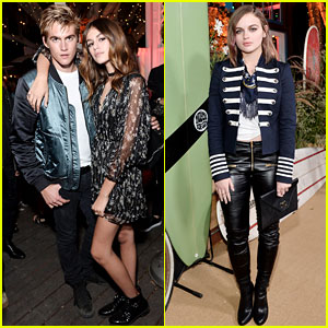 Kaia & Presley Gerber Hit Up Teen Vogue's Young Hollywood Party with Joey King & More!