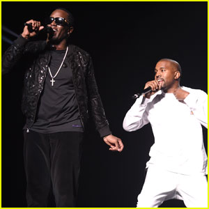 Kanye West Surprises Fans on Bad Boy Family Reunion Stage