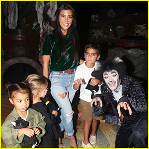 Kourtney Kardashian Takes Her Kids & North West To See 'Cats' on Broadway!