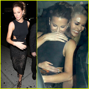 Kate Beckinsale & Lindsey Vonn Have a Girls Night at the Nice Guy