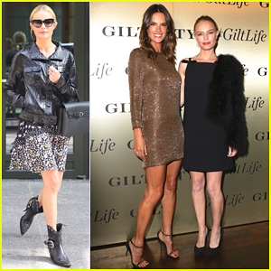 Kate Bosworth & Alessandra Ambrosio Buddy Up At #GiltLife Launch Party!