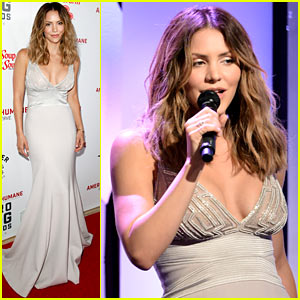 Katharine McPhee Shows Her Support at the Hero Dog Awards 2016!