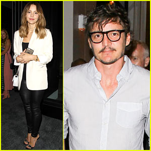 Katharine McPhee & Pedro Pascal Attend WME's Emmy Party