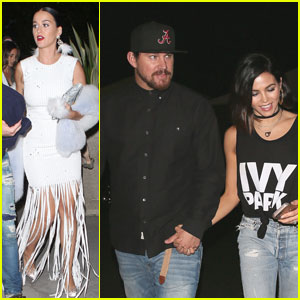 Katy Perry, Channing Tatum & More Stars Attend Beyonce's Dodgers Stadium Concert