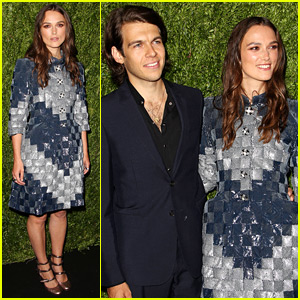 Keira Knightley & Husband James Righton Are Color-Coordinated for Chanel Event!