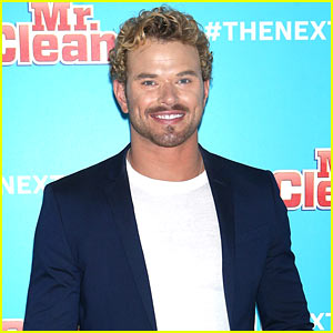 Kellan Lutz Shows Off His Biceps While Auditioning to be the Next Mr. Clean - Watch!