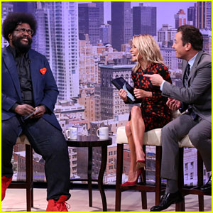 Kelly Ripa Auditions Jimmy Fallon for 'Live!' Co-Host - Watch Now!