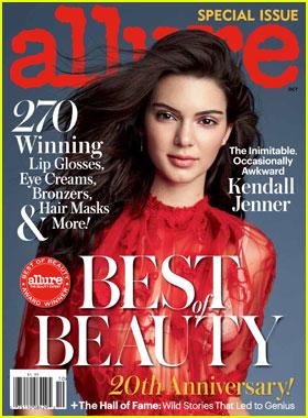 Kendall Jenner Talks Dating Rumors for 'Allure' October 2016