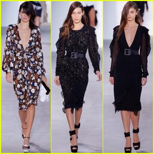 Kendall Jenner, Bella Hadid & Taylor Hill Rock the Michael Kors Runway