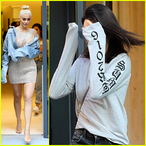 Kendall & Kylie Jenner Run Errands Around NYC Before Thursday Night Fashion Shows