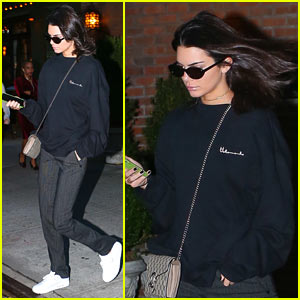 Kendall Jenner Wants Everyone to Know She's Not a Rapper