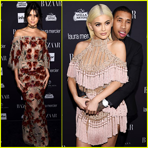 Kendall & Kylie Jenner Join Their Friends at Harper's Bazaar's Icons Party!