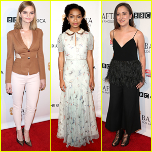 Kerris Dorsey & Zelda Williams Step Out at BAFTA's Emmy Tea Party