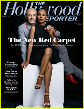 Kerry Washington Celebrates Christian Louboutin & THR's Top Red Carpet Designers