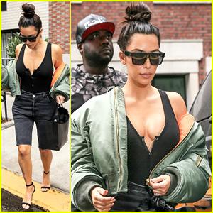 Kim Kardashian Didn't Know She's on Kanye West's Tour Merch