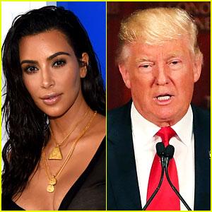Is Kim Kardashian Considering Voting for Donald Trump?