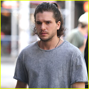 Kit Harington Continues Filming 'The Death and Life of John F. Donovan' in NYC