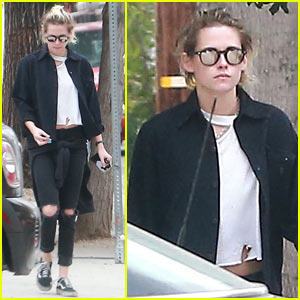 Kristen Stewart Hangs Out in WeHo Ahead of TIFF 2016
