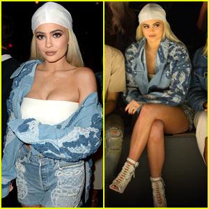 Kylie Jenner Sits Front Row at Jonathan Simkhai Fashion Show at NYFW 2016!