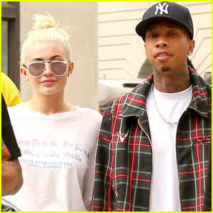 Kylie Jenner & Tyga Head Out on Day Three of NYFW