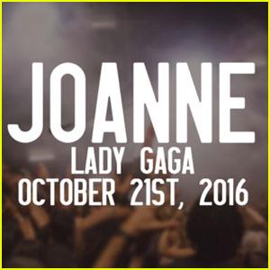 Lady Gaga Reveals Album Title 'Joanne' & Release Date!
