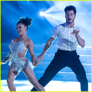 Laurie Hernandez Does the Cha Cha for 'DWTS' Fall 2016 Premiere - Watch Now!