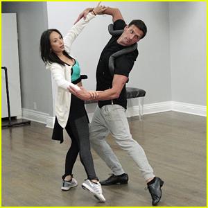 Ryan Lochte & Cheryl Burke Join DWTS Cast on 'Good Morning America'