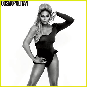 Laverne Cox Channels Beyonce & More for 'Cosmopolitan'