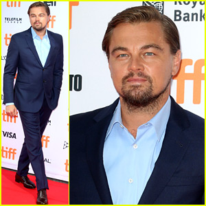 Leonardo DiCaprio Suits Up for 'Before the Flood' TIFF Premiere