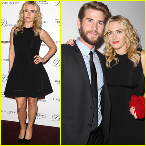Liam Hemsworth & Kate Winslet Screen 'The Dressmaker' in NYC
