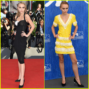 Lily-Rose Depp Wows at 'Planetarium' Premiere in Venice