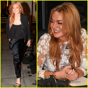 Lindsay Lohan Visits Syrian Refugee Families While on Trip in the Middle East