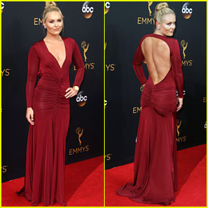 Lindsey Vonn Sizzles on the Red Carpet at the Emmy Awards 2016