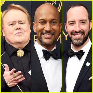 Louie Anderson, Keegan-Michael Key, & Tony Hale Suit Up for Emmys 2016!