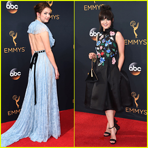 Game of Thrones' Hannah Murray Goes Backless at Emmys 2016
