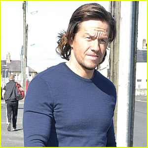 Mark Wahlberg Takes a Break from 'Transformers' Filming to Attend S...