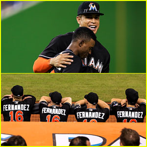 Marlins' Dee Gordon Hits Home Run as Team Honors Jose Fernandez in Incredibly Touching Moment - Watch Now