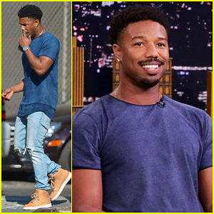 Michael B. Jordan Is Bulking Up to Play 'Black Panther' Villain!