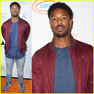 Michael B. Jordan Shows Off His Snapchat Filter Skills!