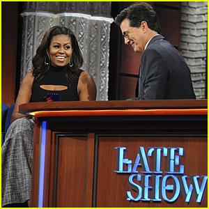 Michelle Obama Does Funny Barack Obama Impression - Watch Now!